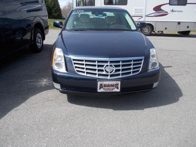 2009 cadillac dts luxury 5 passenger 4dr sedan in hermon. Black Bedroom Furniture Sets. Home Design Ideas