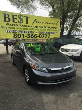 2012 Honda Civic for sale in Midvale, UT