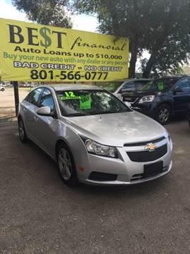 2012 Chevrolet Cruze for sale in Midvale, UT