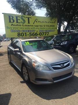 2010 Subaru Legacy for sale in Midvale, UT
