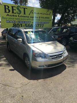 2007 Honda Odyssey for sale in Midvale, UT