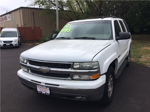 2002 Chevrolet Tahoe for sale in West Chicago, IL