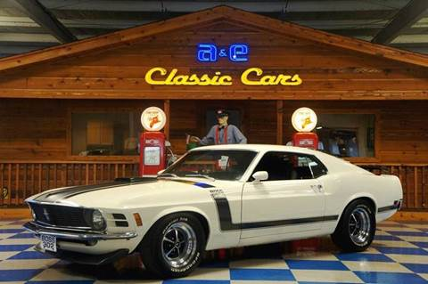 1970 Ford Mustang Boss 302 for sale in New Braunfels, TX