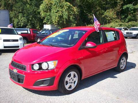 2013 Chevrolet Sonic for sale in Taunton, MA