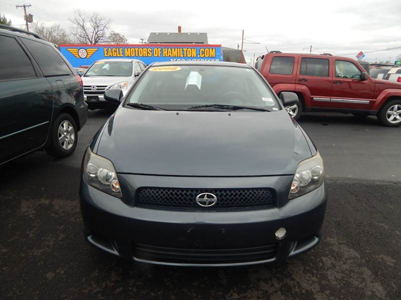 2008 scion tc spec 2dr hatchback 4a in hamilton oh eagle for Eagle motors hamilton ohio