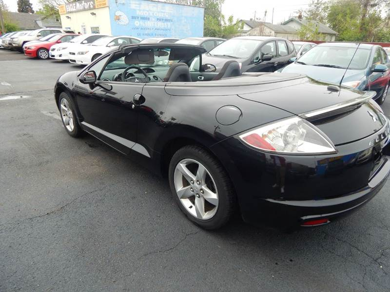 2009 mitsubishi eclipse spyder gs 2dr convertible in for Eagle motors hamilton ohio