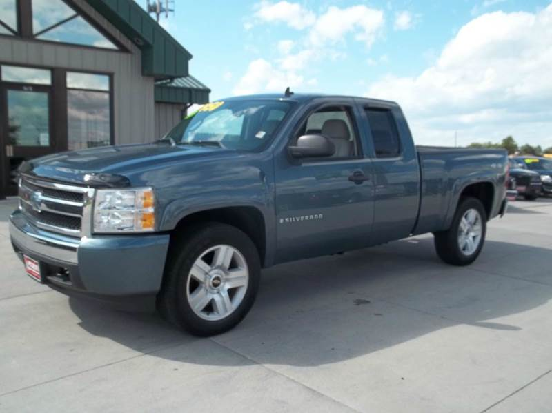 2008 chevrolet silverado 1500 lt1 4wd 4dr extended cab 6 5 ft sb in kearney ne lanny carlson. Black Bedroom Furniture Sets. Home Design Ideas