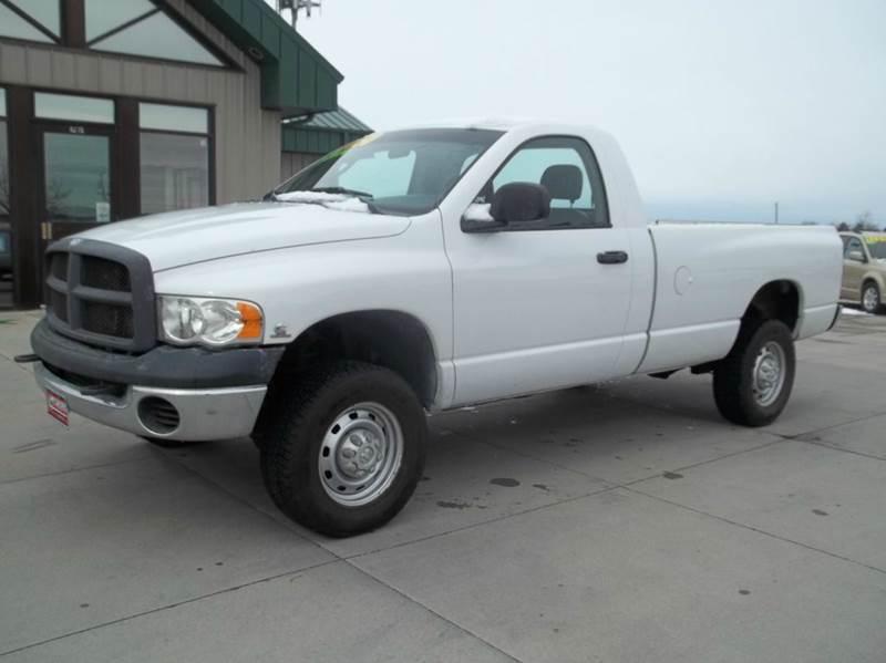 2004 dodge ram pickup 2500 st 2dr regular cab 4wd lb in for Lanny carlson motor inc kearney ne