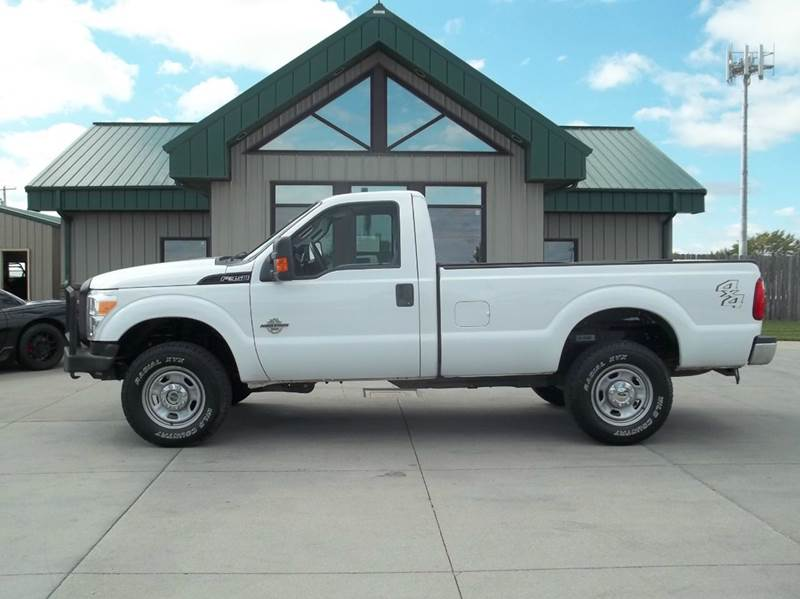 2011 ford f 350 super duty xl 4x4 2dr regular cab 8 ft lb for Lanny carlson motor inc kearney ne