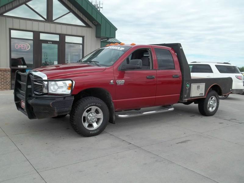 2009 dodge ram pickup 2500 4x4 slt 4dr quad cab 8 ft lb for Lanny carlson motor inc kearney ne