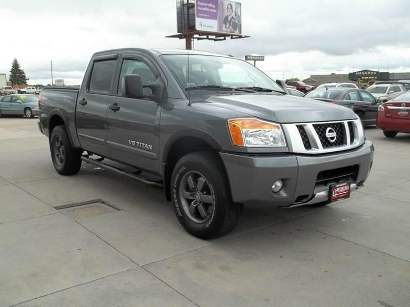 2013 nissan titan pro 4x 4x4 4dr crew cab swb pickup in for Lanny carlson motor inc kearney ne