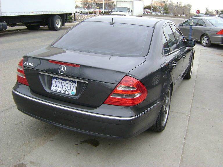 2004 Mercedes-Benz E-Class E500 4dr Sedan - Denver CO