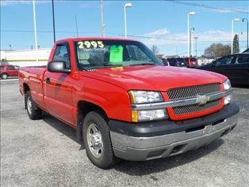 2003 Chevrolet Silverado 1500 for sale in Escanaba, MI