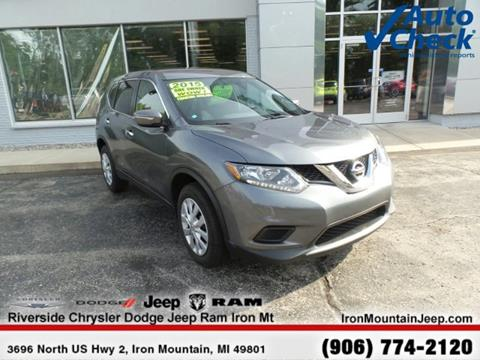 2015 Nissan Rogue for sale in Iron Mountain MI