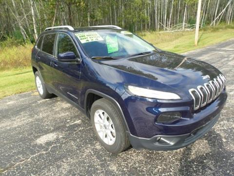 2016 Jeep Cherokee for sale in Iron Mountain, MI