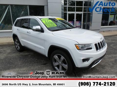 2014 Jeep Grand Cherokee for sale in Iron Mountain, MI
