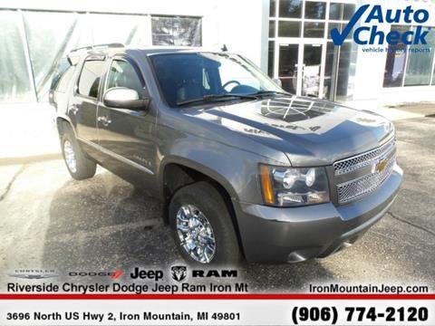 2007 Chevrolet Tahoe for sale in Iron Mountain MI