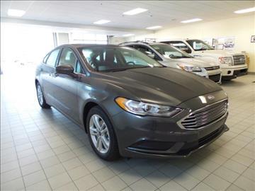 2018 Ford Fusion for sale in Escanaba, MI