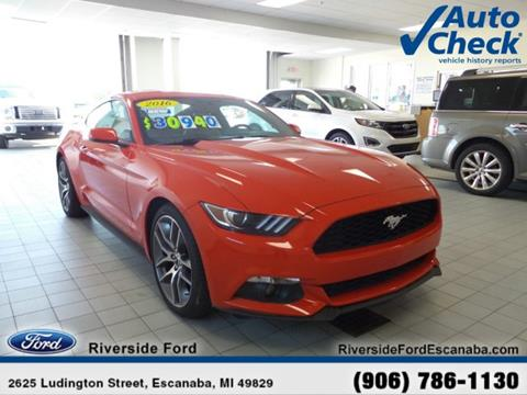 2016 Ford Mustang For Sale - Carsforsale.com