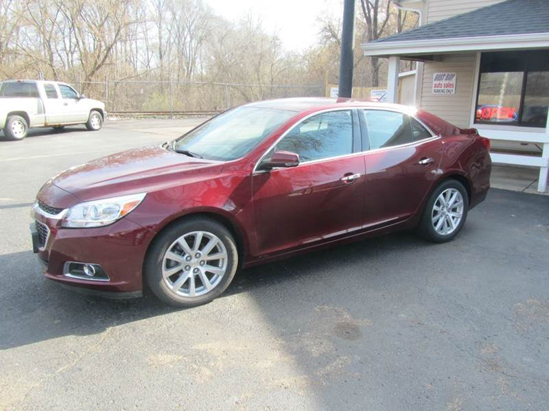 2016 Chevrolet Malibu Limited LTZ 4dr Sedan - South Beloit IL