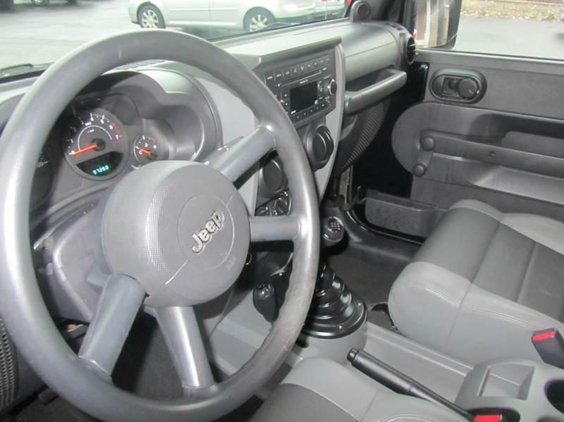 2007 Jeep Wrangler 4x4 X 2dr SUV - South Beloit IL