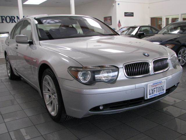 2002 BMW 7 series for sale