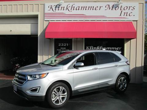 2016 Ford Edge for sale in Racine, WI