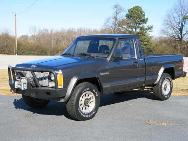 1989 jeep comanche ed murdock ford lavonia ga. Black Bedroom Furniture Sets. Home Design Ideas