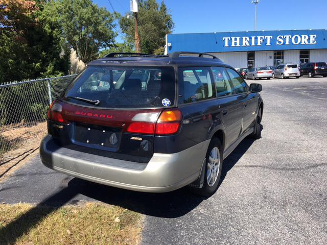 2000 Subaru Outback Base AWD 4dr Wagon - Greenville SC