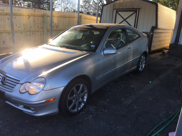 2003 mercedes benz c class c230 kompressor 2dr coupe in for Mercedes benz in greenville sc