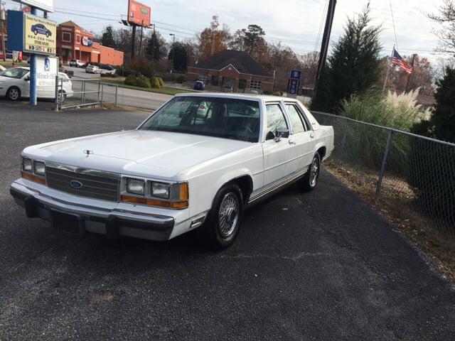 1990 ford ltd crown victoria lx 4dr sedan in greenville sc. Black Bedroom Furniture Sets. Home Design Ideas
