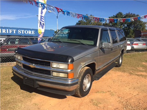 1999 chevrolet suburban for sale in greenville sc. Cars Review. Best American Auto & Cars Review