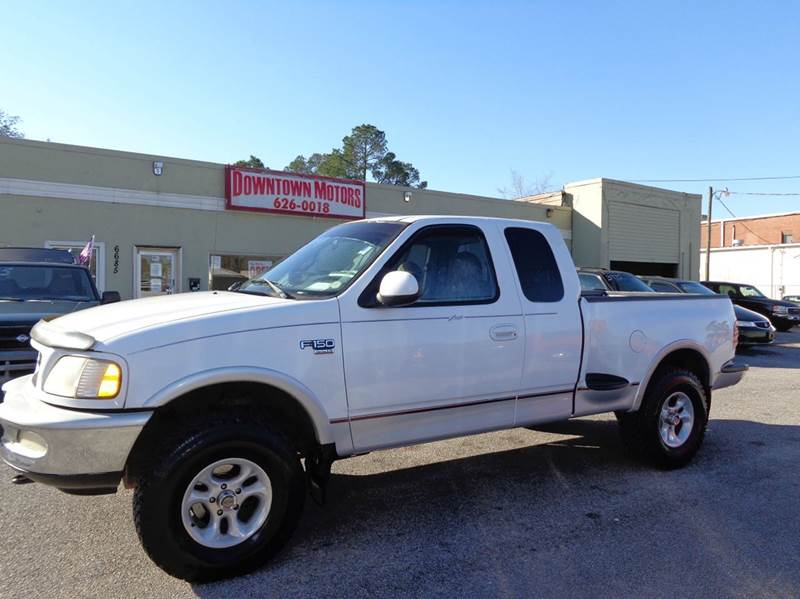 1998 ford f 150 lariat 3dr 4wd extended cab stepside sb in for Downtown motors milton fl