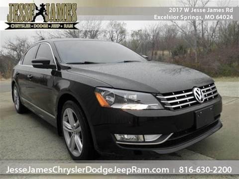 2013 Volkswagen Passat for sale in Excelsior Springs, MO