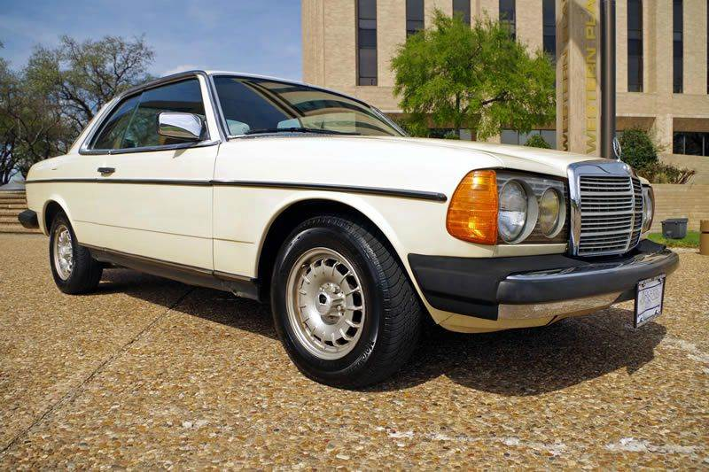 1985 mercedes benz 300 class 300cd 2dr turbodiesel coupe for European motors fort worth
