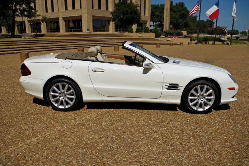 2007 mercedes benz sl class sl550 2dr convertible in fort worth tx. Cars Review. Best American Auto & Cars Review