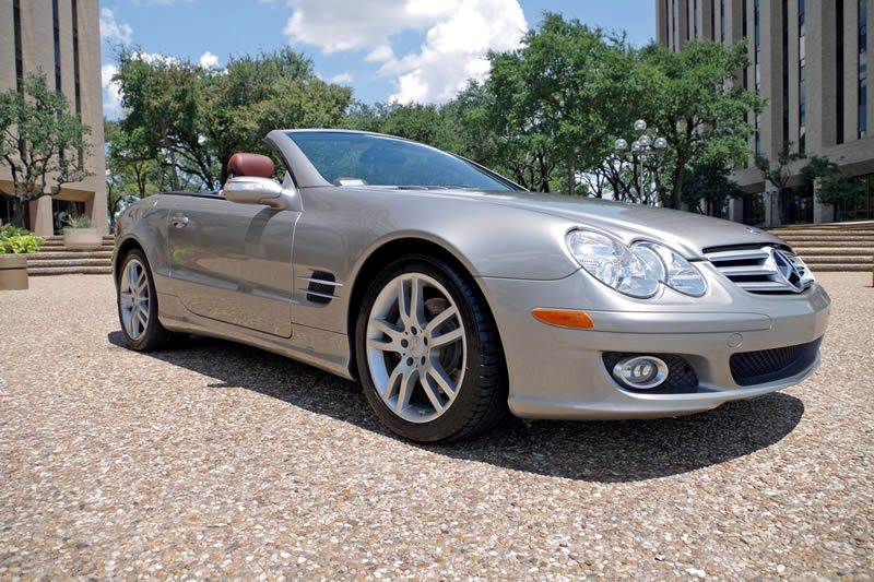 2007 mercedes benz sl class sl550 2dr convertible in fort for Mercedes benz fort worth
