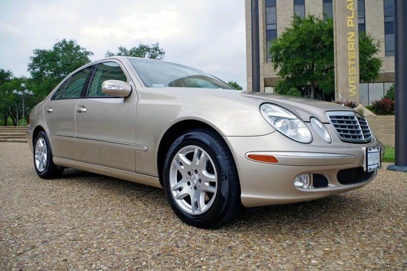 2003 mercedes benz e class e320 4dr sedan in fort worth tx for Mercedes benz ft worth
