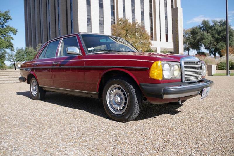 1985 mercedes benz 300 class 4dr 300d turbodiesel sedan in for Mercedes benz ft worth