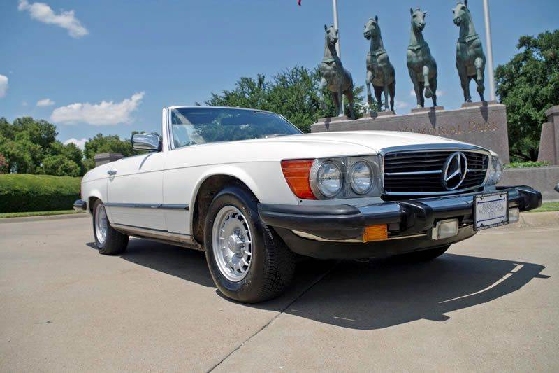 1981 mercedes benz 380 class 380sl 2dr convertible in fort for Mercedes benz ft worth