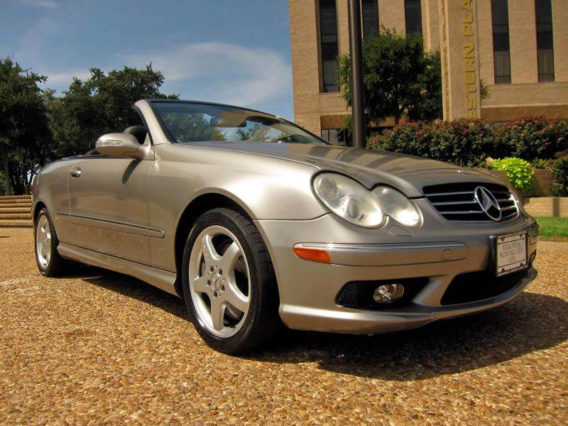 2005 mercedes benz clk class clk500 2dr cabriolet in fort worth tx. Cars Review. Best American Auto & Cars Review