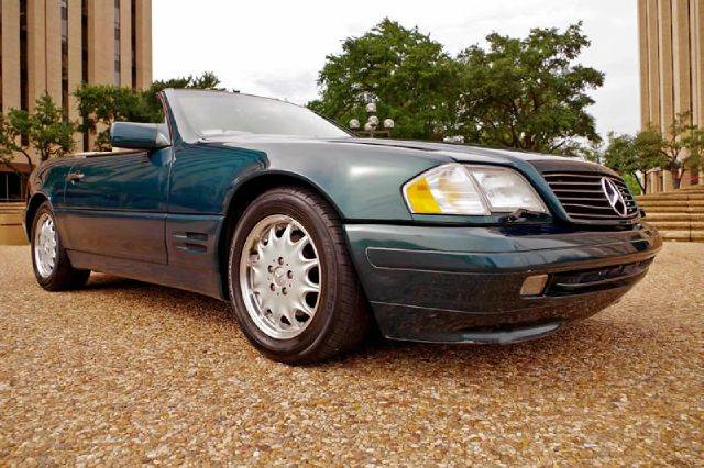 1996 mercedes benz sl class sl500 2dr convertible fort for European motors fort worth