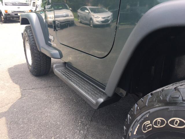 2004 Jeep Wrangler Sport 4WD 2dr SUV - Tabernacle NJ