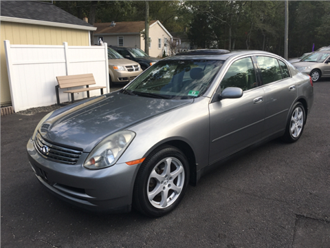 2004 Infiniti G35 for sale in Tabernacle, NJ