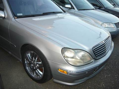 2001 mercedes benz s class for sale for Napleton mercedes benz