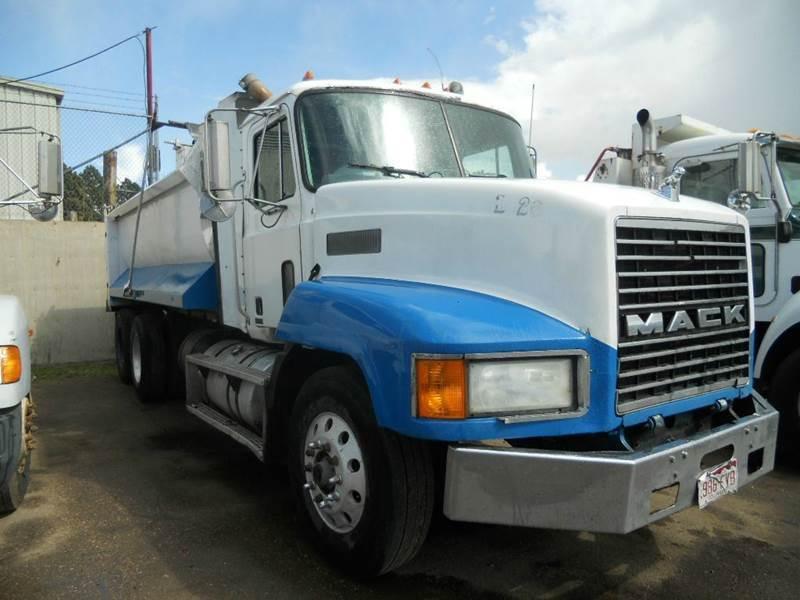 1998 Mack 613 Tandem Dump Truck