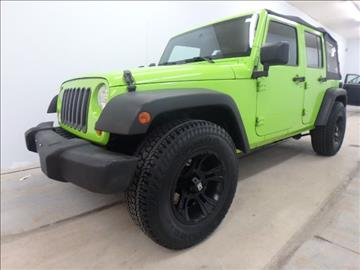 2007 Jeep Wrangler Unlimited for sale in East Peoria, IL
