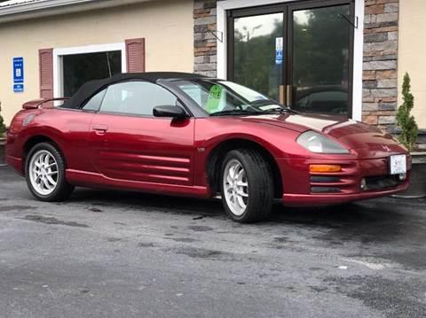 2001 Mitsubishi Eclipse Spyder for sale in Gainesville, GA