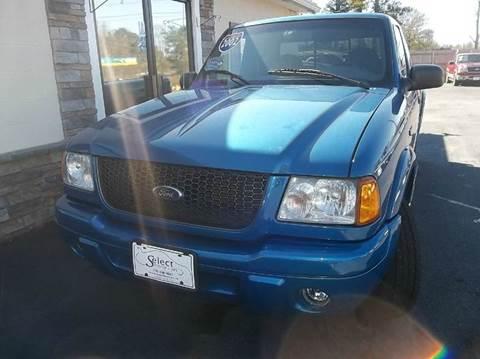 2002 ford ranger for sale georgia for Select motor cars gainesville ga