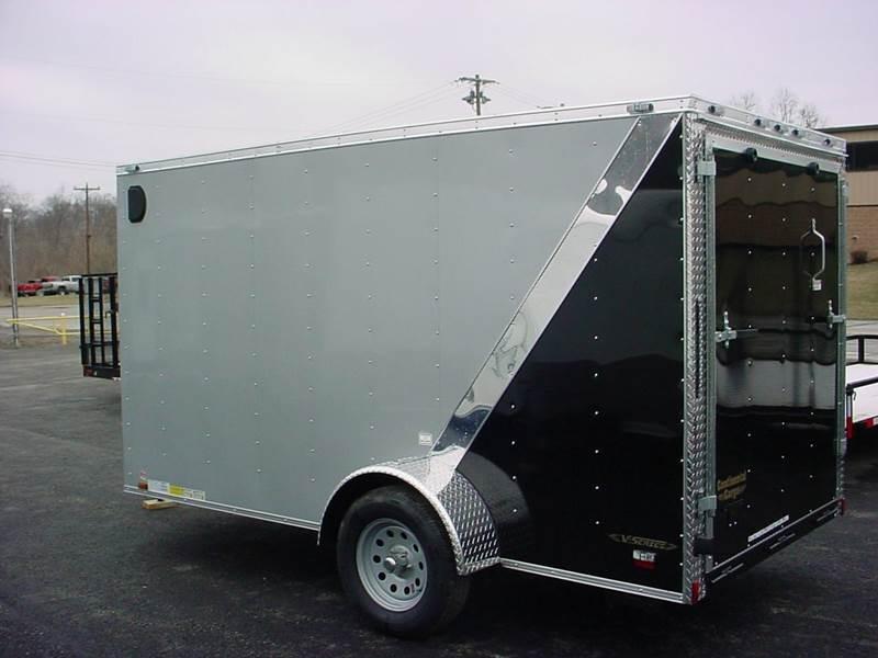 2016 Continental Cargo 6x12 V-Nose Cargo